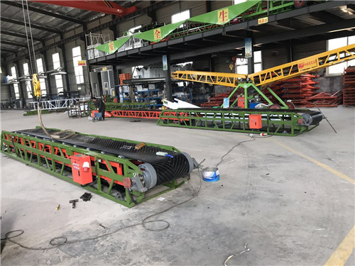 5米平板皮带输送机